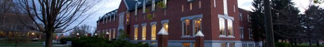 Jeremiah K. Durick Library, Saint Michael's College, Colchester, VT