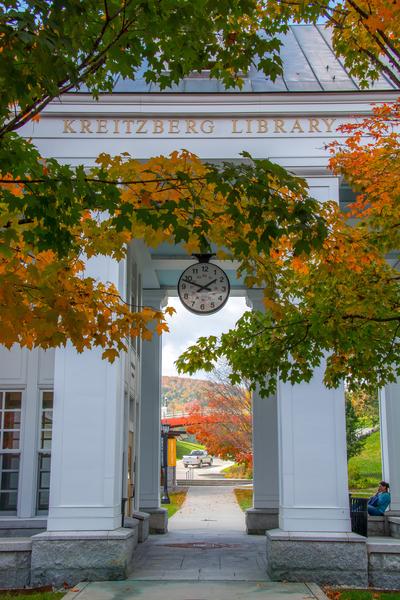 Kreitzberg Library, Norwich University, Northfield, VT